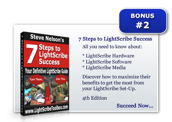 LightScribe Success in 7 Steps