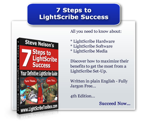 LightScribe Success in Just 7 Steps
