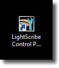 LightScribe Control Panel