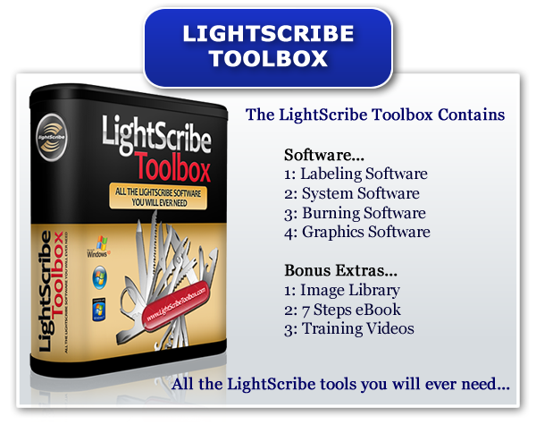 The Best LightScribe Software Package