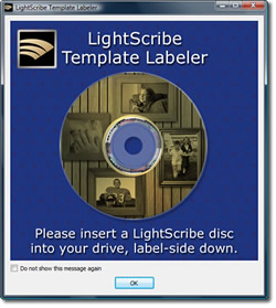 Darker LightScribe Labels with the Template Labeler